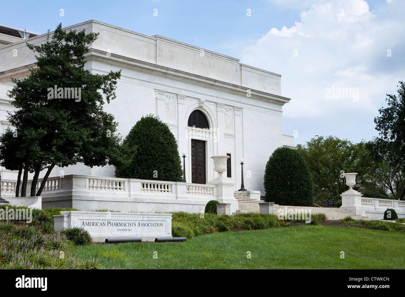 La Asociación de Farmacéuticos de Americanos, Washington, D.C. Imagen De Stock