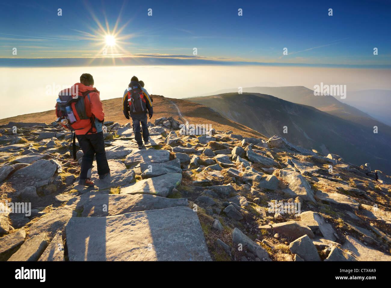 Babia Gora National Park, de Polonia, de Europa Foto de stock
