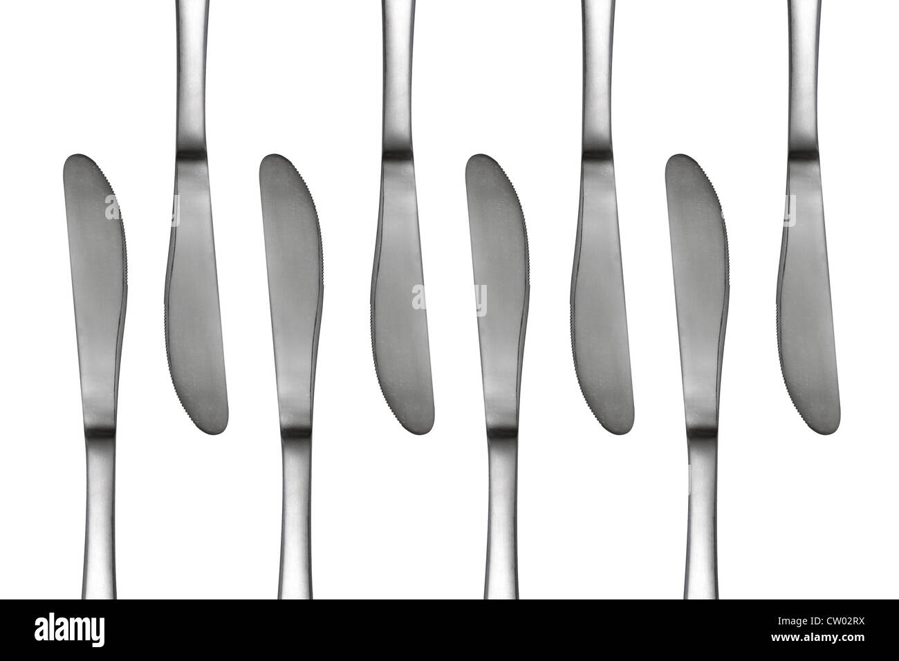 Las cuchillas en un patrón abstracto Imagen De Stock