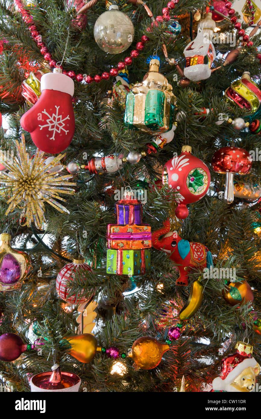 2c2b5074861 Adornos de Navidad (el personal del fotógrafo de árbol de Navidad). Imagen  De