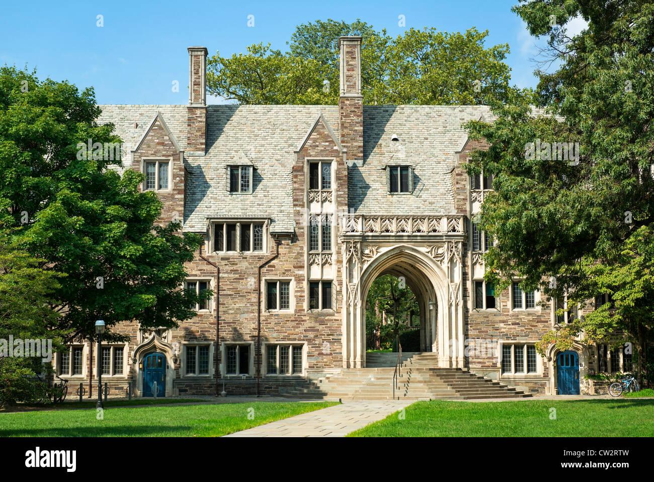 Lockhart Hall, de la Universidad de Princeton, Nueva Jersey, EE.UU. Imagen De Stock