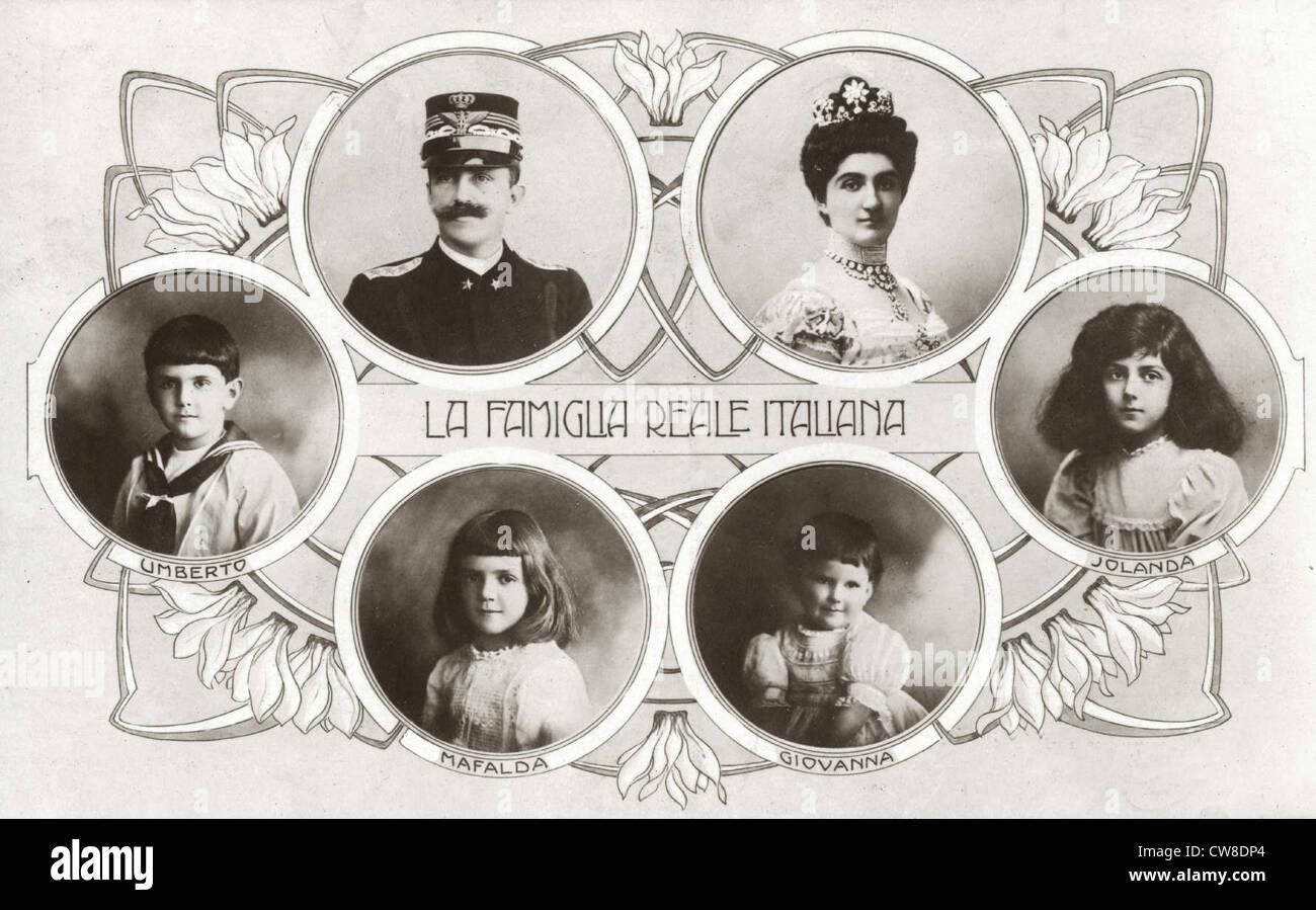 f7748822861a8 La familia Real Italiana Foto   Imagen De Stock  49973564 - Alamy