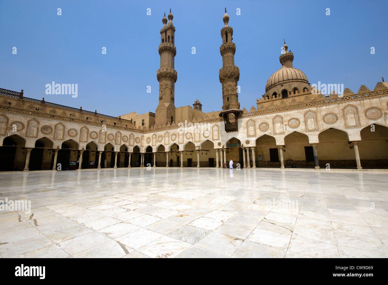 Mezquita de Al-Azhar de El Cairo Imagen De Stock