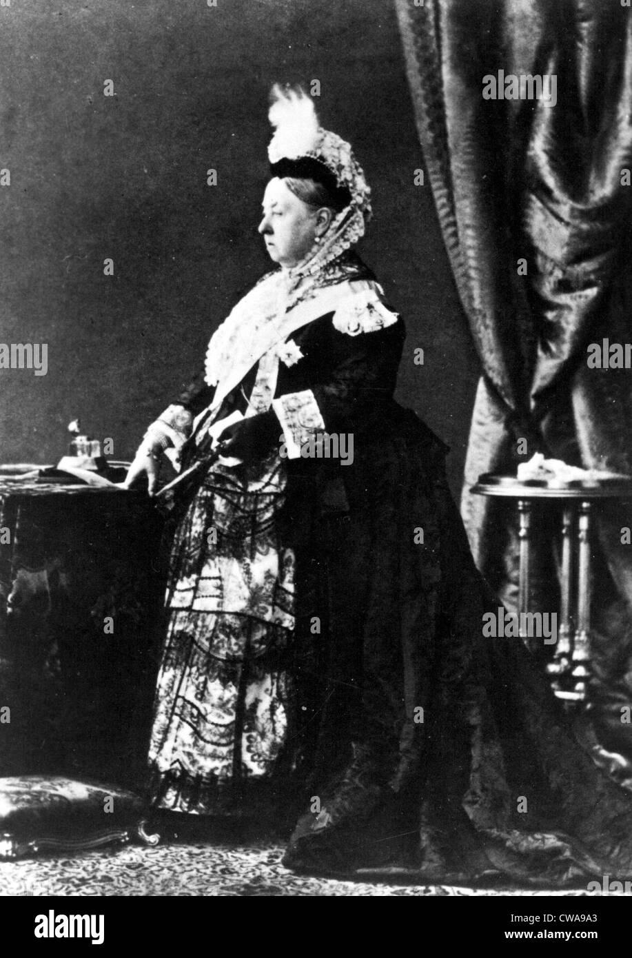 La reina Victoria, sin fecha. Cortesía: CSU Archives / Everett Collection Imagen De Stock
