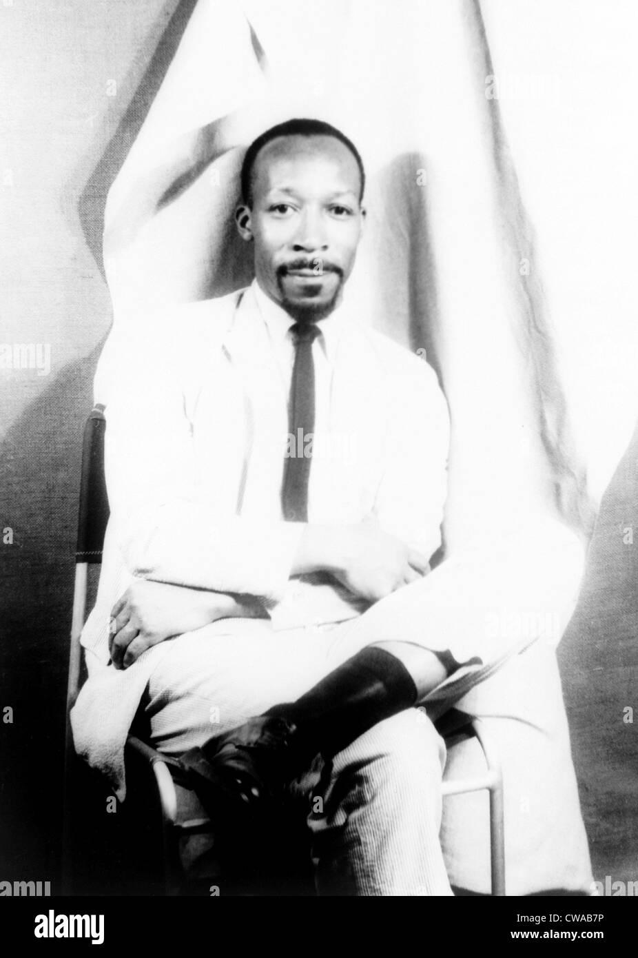 "John Alfred Williams (b.1925), escritor y novelista americano africano, del best seller de 1967 ""El hombre que lloraba Foto de stock"