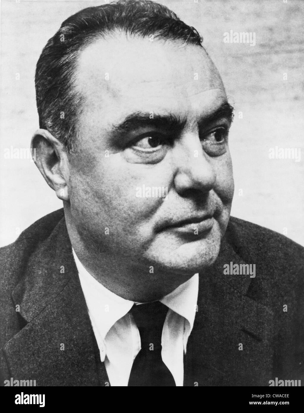 """James G. Cozzens (1903-1978), novelista, ganó el Premio Pulitzer de 1949. Su obra más conocida, """"Por Amor"""", fue Foto de stock"""