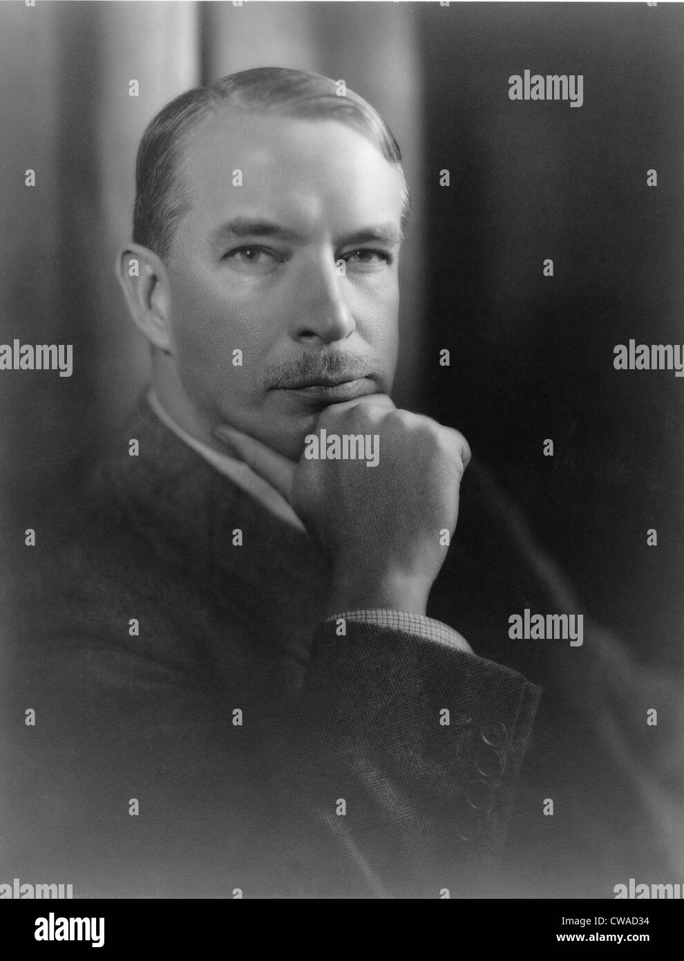 John P. Marquand (1893-1960), novelista, creó el personaje de Señor Moto, un agente de espionaje japonés, retratado Foto de stock