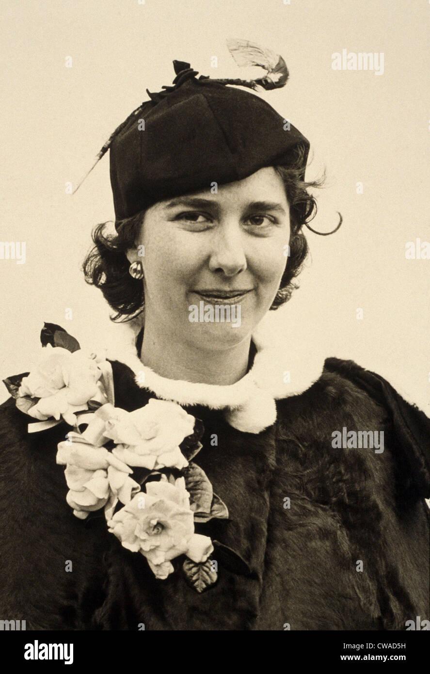 """Alice Vanderbilt Morris (1874-1950), American linquist dedicó su vida a desarrollar un """"idioma internacional auxiliar"""", Foto de stock"""