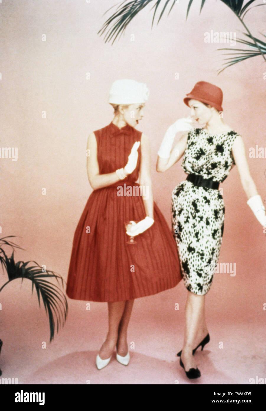 Moda de los años 1960. Cortesía: CSU Archives/Everett Collection Imagen De Stock