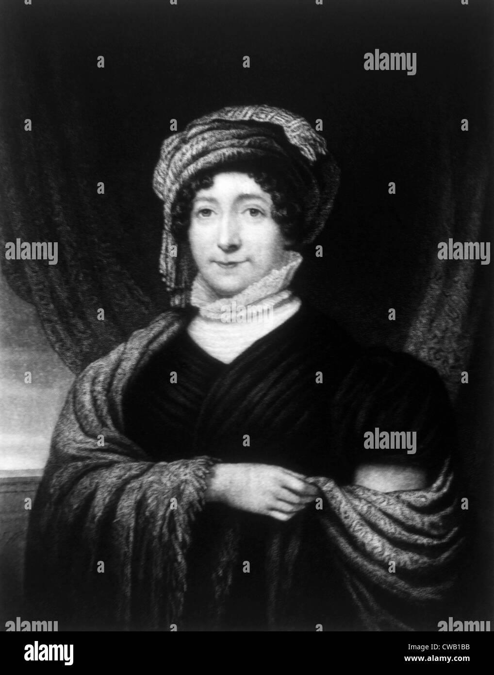 Dolley Madison (1768-1849), la Primera Dama (1809-1817) Imagen De Stock