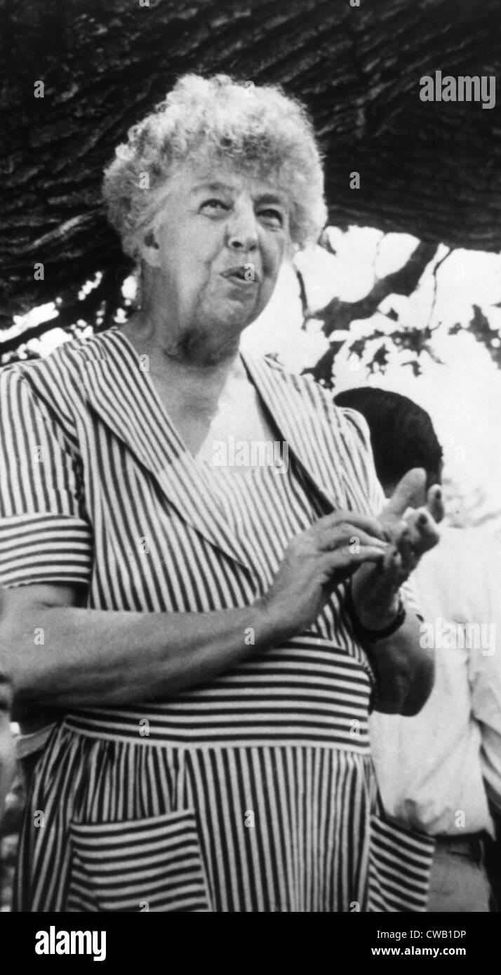 Eleanor Roosevelt (1884-1962), la Primera Dama (1933-1945), ca. 1950 Foto de stock
