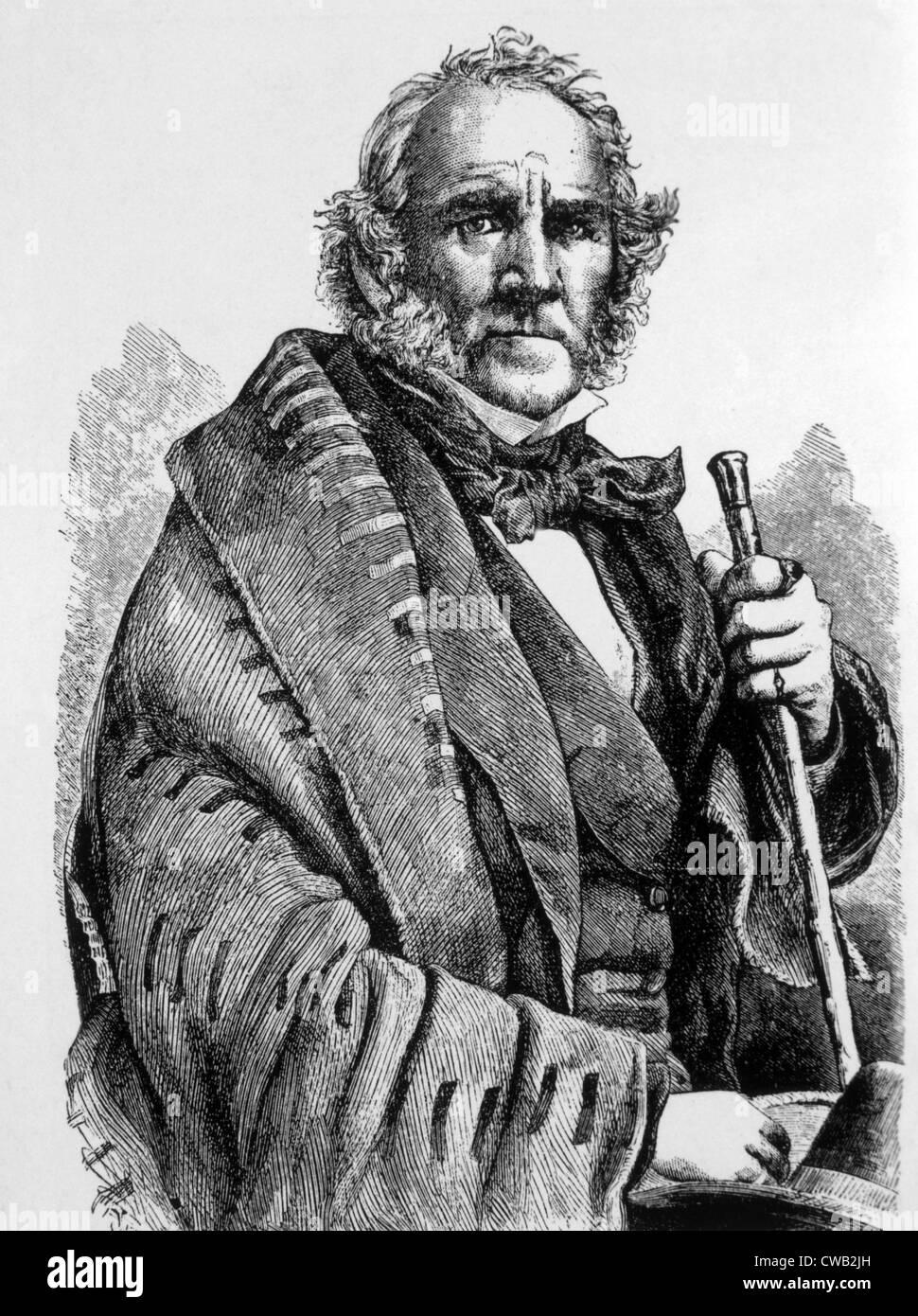 El General Sam Houston (1793-1863) Foto de stock