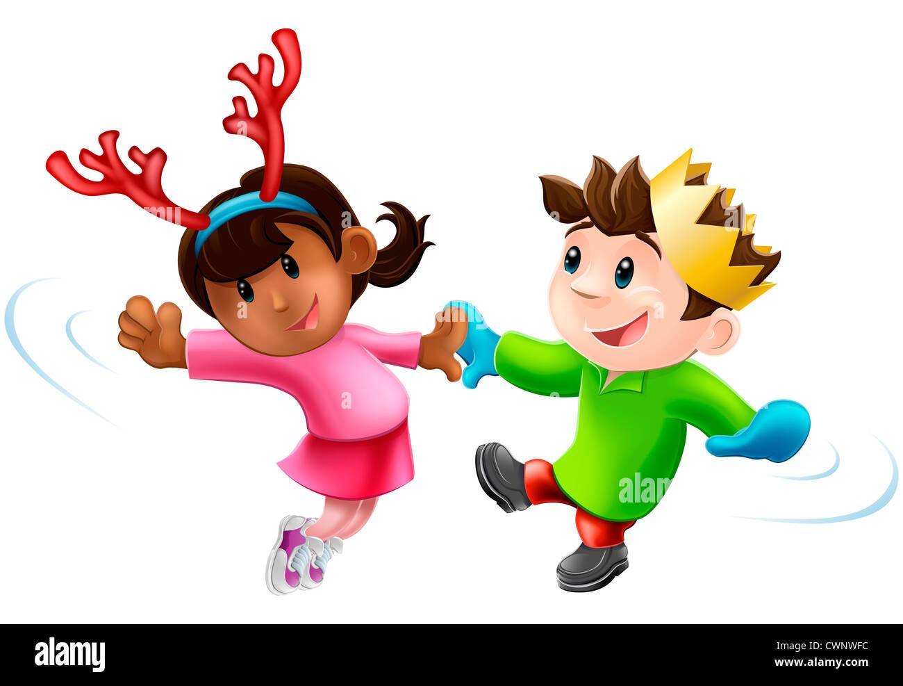 Caricaturas de ninos de navidad
