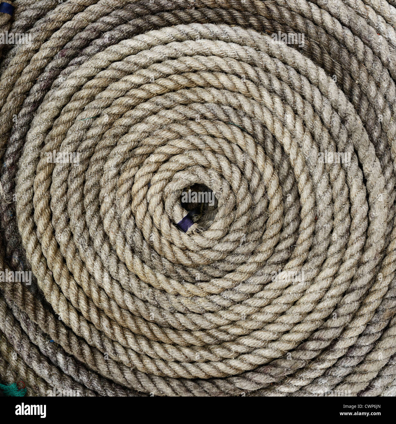 Bobina de cuerda Imagen De Stock