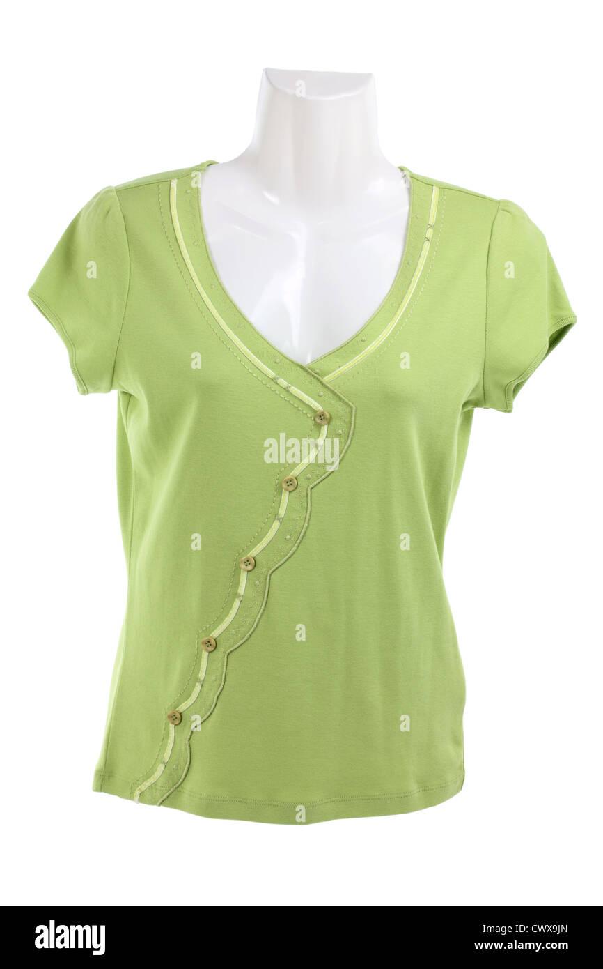 Maniquí de medio cuerpo con una blusa Imagen De Stock