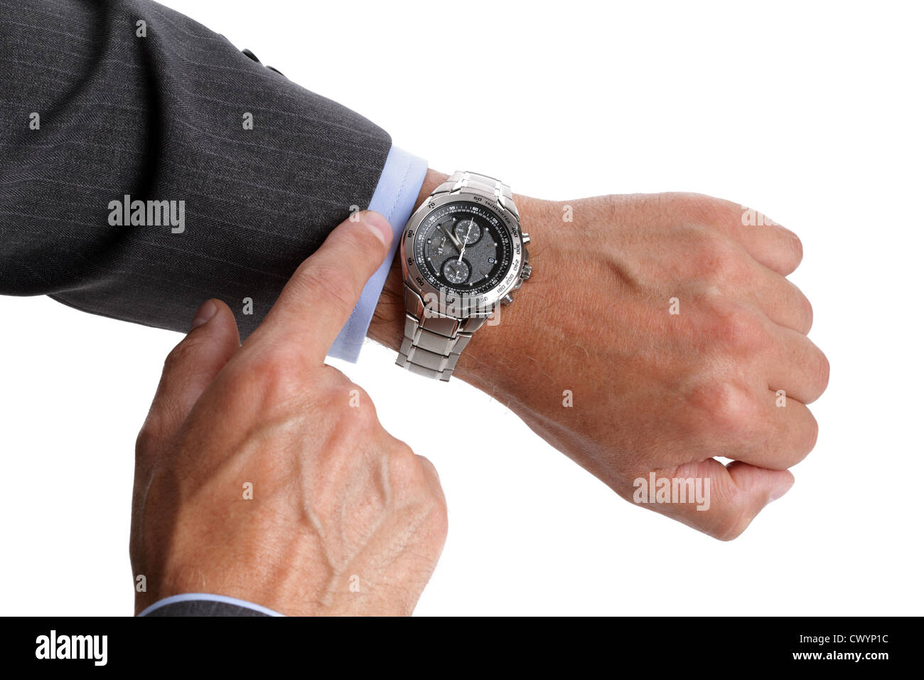 Comprobación del tiempo Imagen De Stock