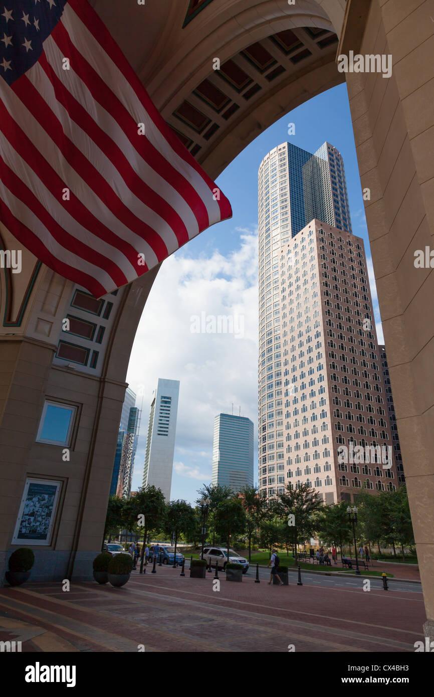 El distrito financiero de Boston, Massachusetts, EE.UU. Imagen De Stock