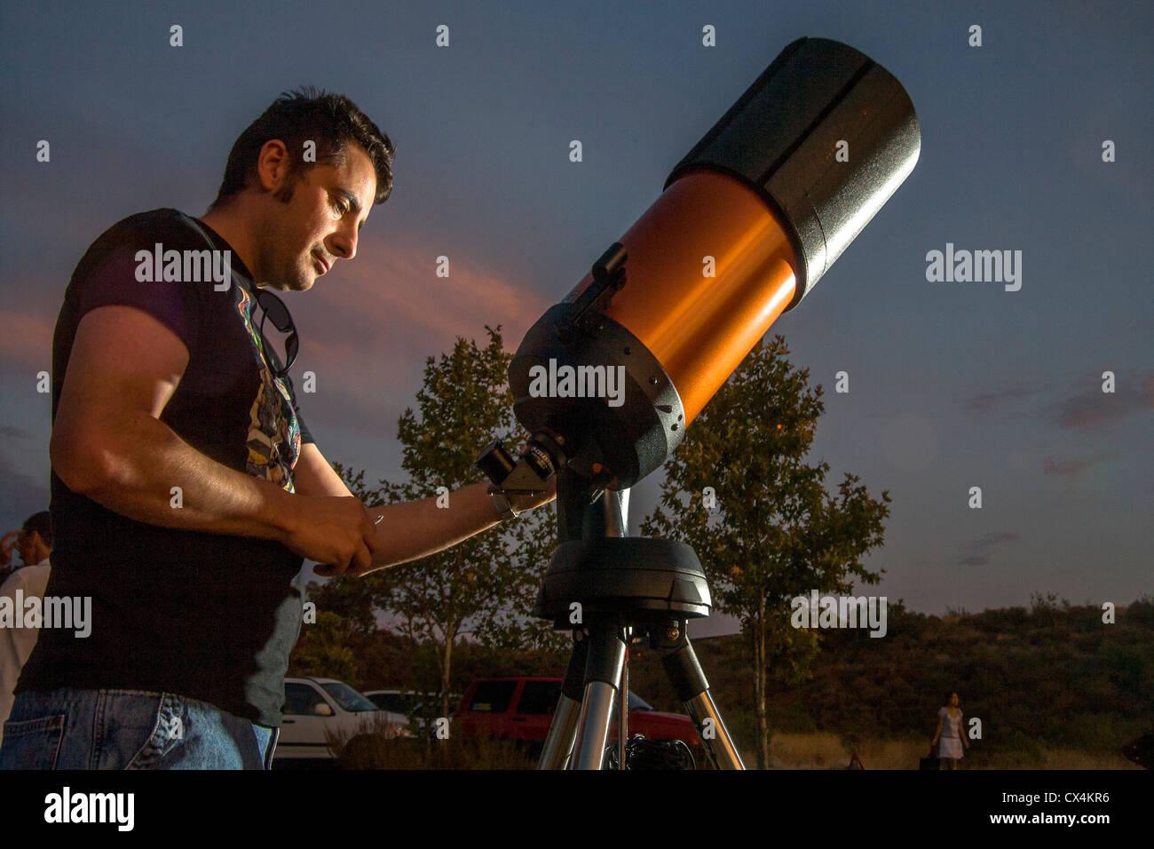 telescopio astron/ómico tipo refracci/ón telescopio port/átil-60090 Telescopio de alta definici/ón telescopio espacial monocular al aire libre