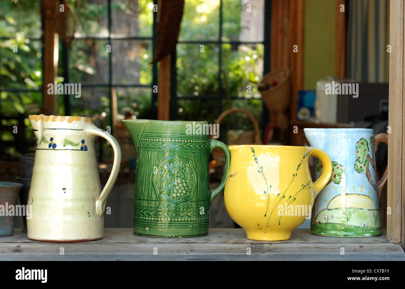 Jarrones rusticos jarrn macetero estilo anfora en latn esmaltado jaspeado no brillo textura - Jarrones rusticos ...