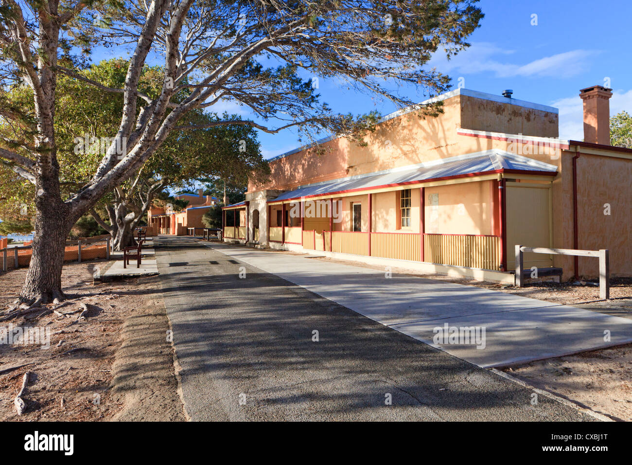 Casa Rural alojamiento en Bahía Thomson. Imagen De Stock