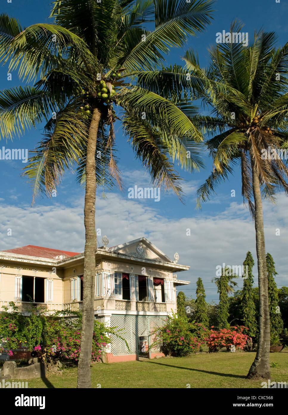 Sanson Montiola Heritage House, Iloilo, Filipinas, el sudeste de Asia, Asia Foto de stock