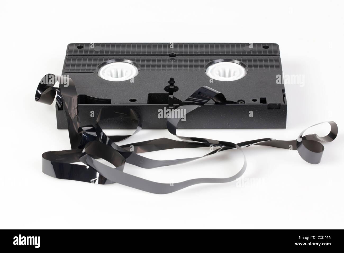 Cinta VHS DEFECTUOSO, Imagen De Stock
