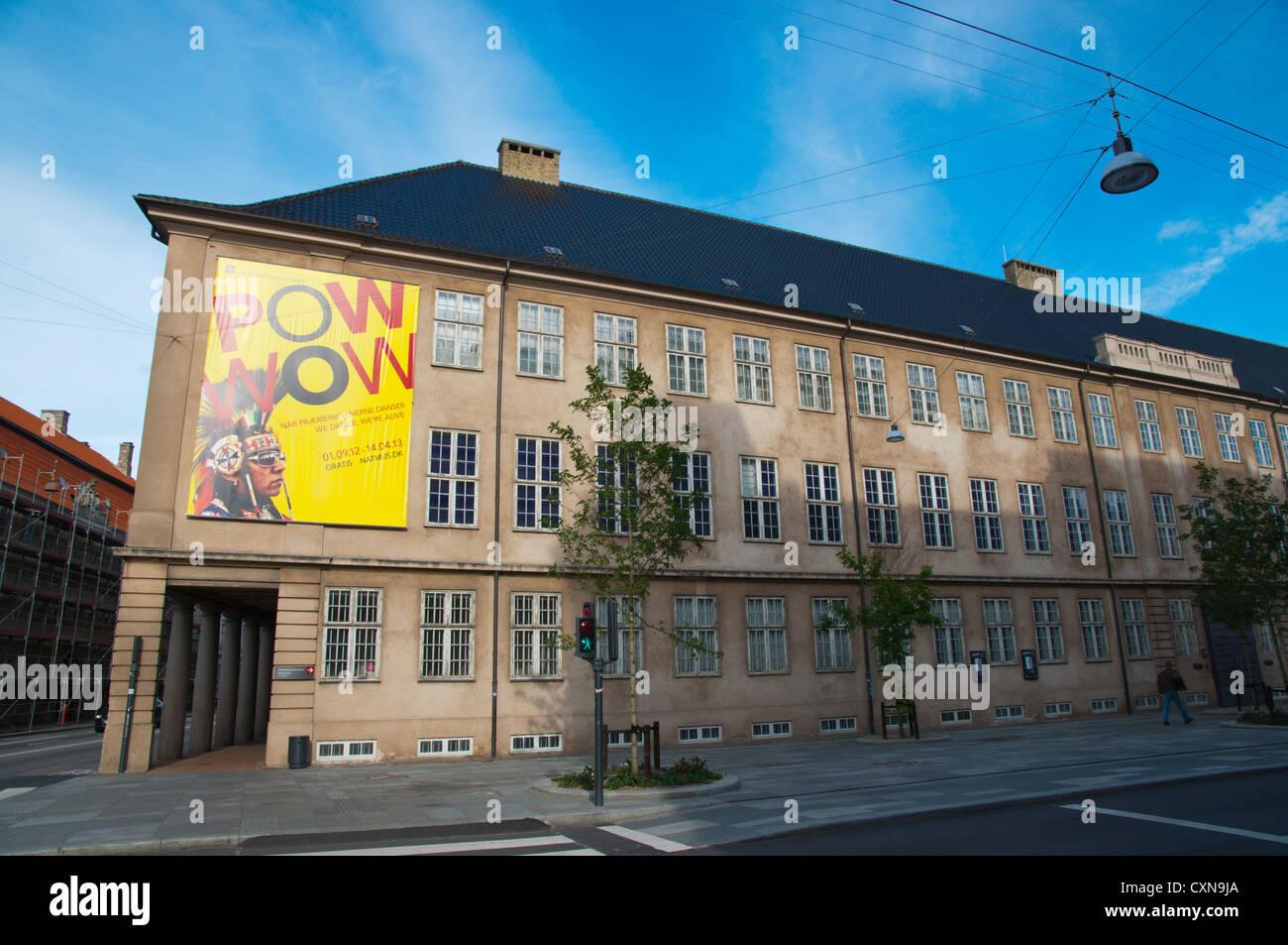 Nationalmuseet el Museo Nacional de historia cultural exterior Copenhague Dinamarca Europa central Foto de stock