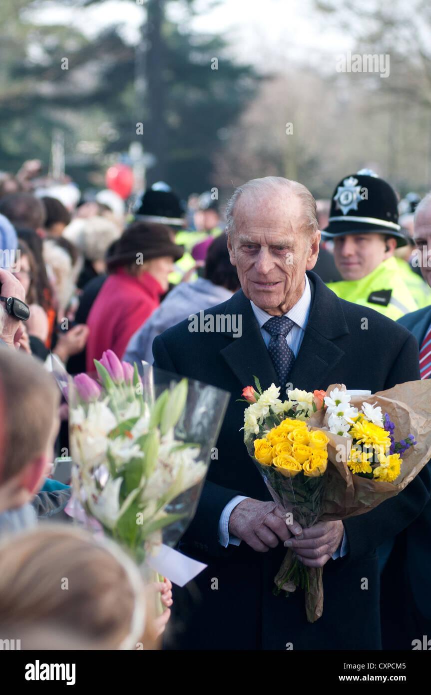 El Duque de Edimburgo, el Príncipe Felipe Imagen De Stock