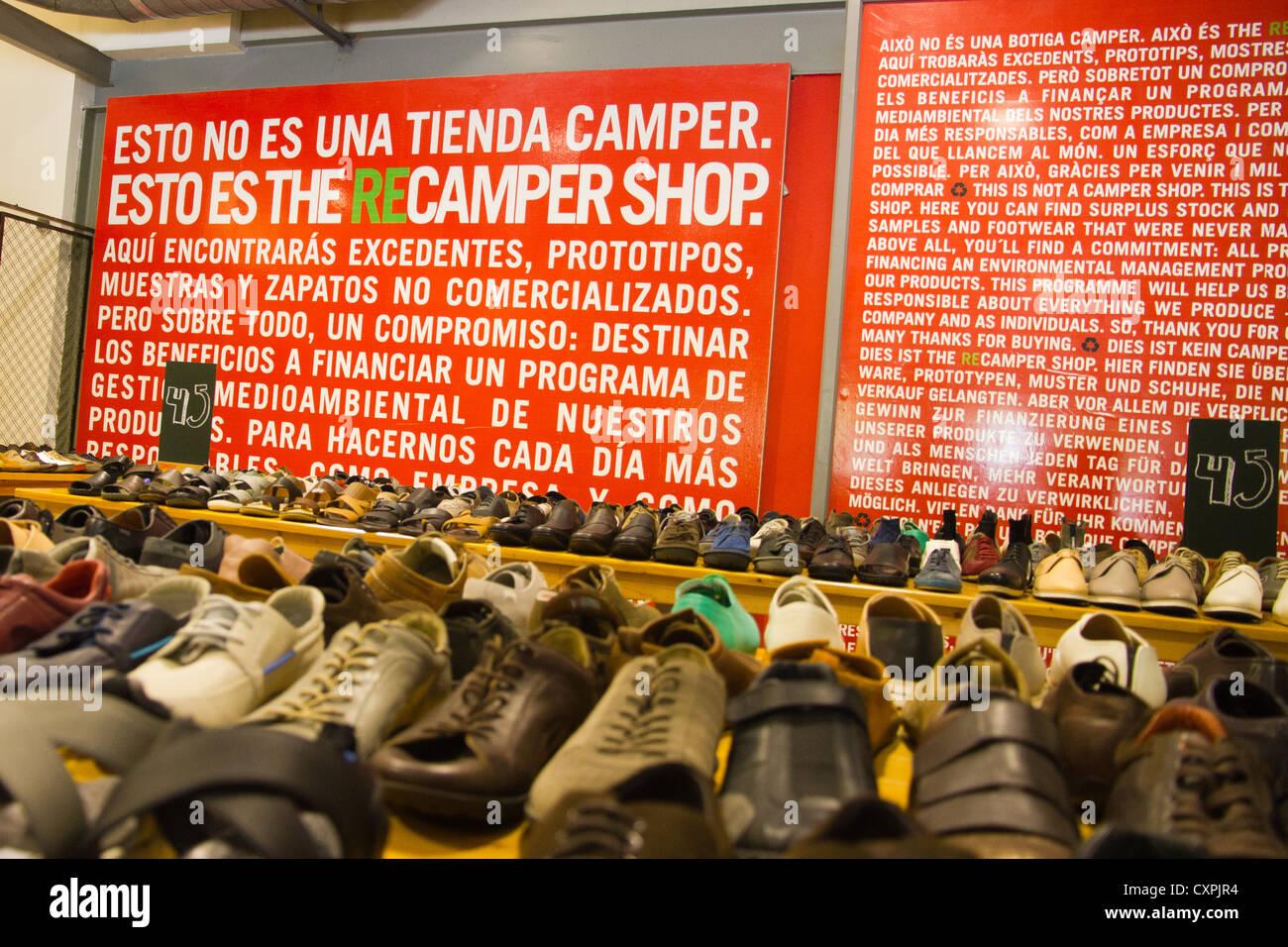 De España Mallorca Inca Outlet 31bb47 Camper Zapatos Foto Tienda TFAqwd6T