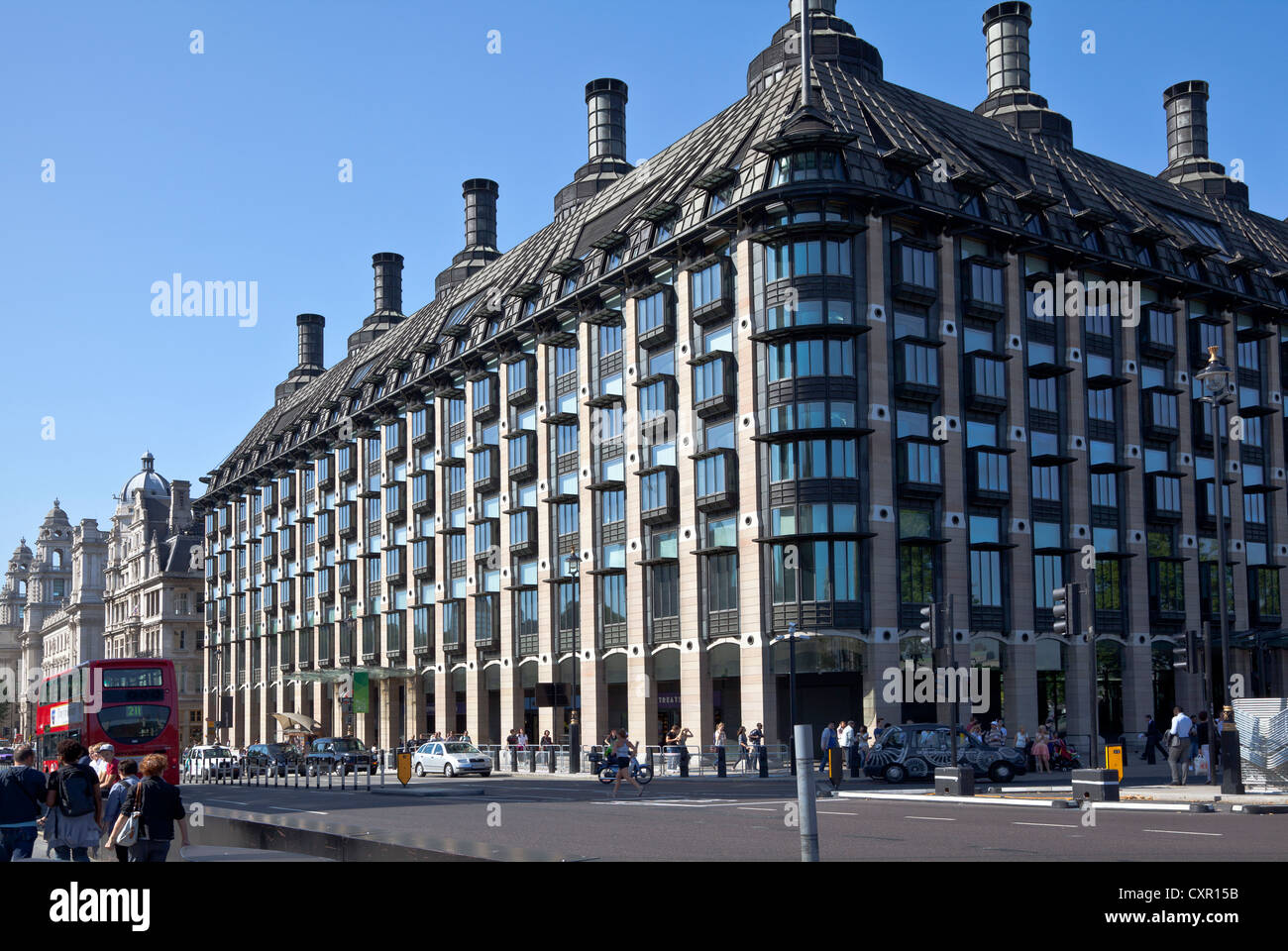 Portcullis House, Westminster Foto de stock
