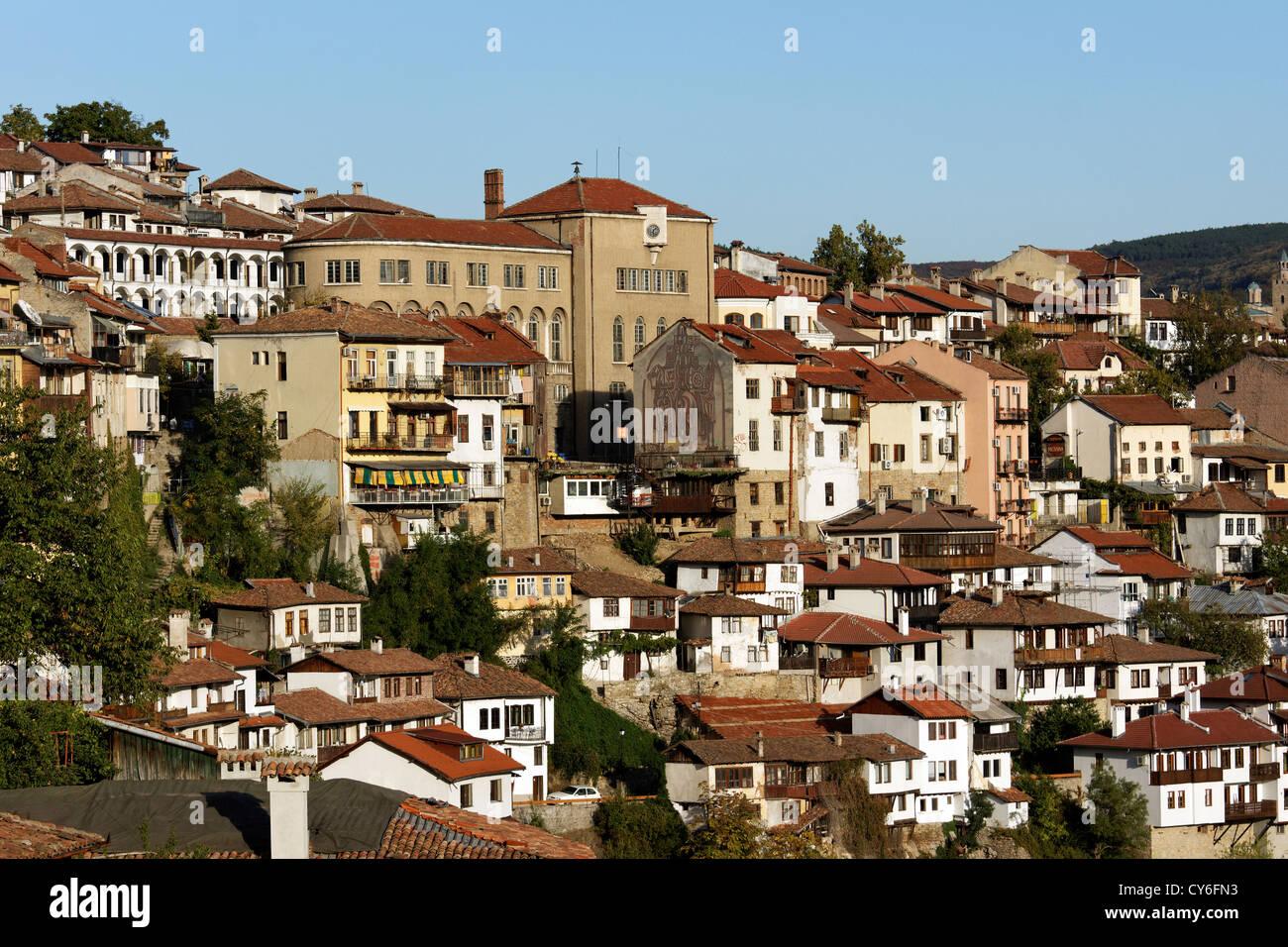 Ciudad de Veliko Tarnovo Foto de stock