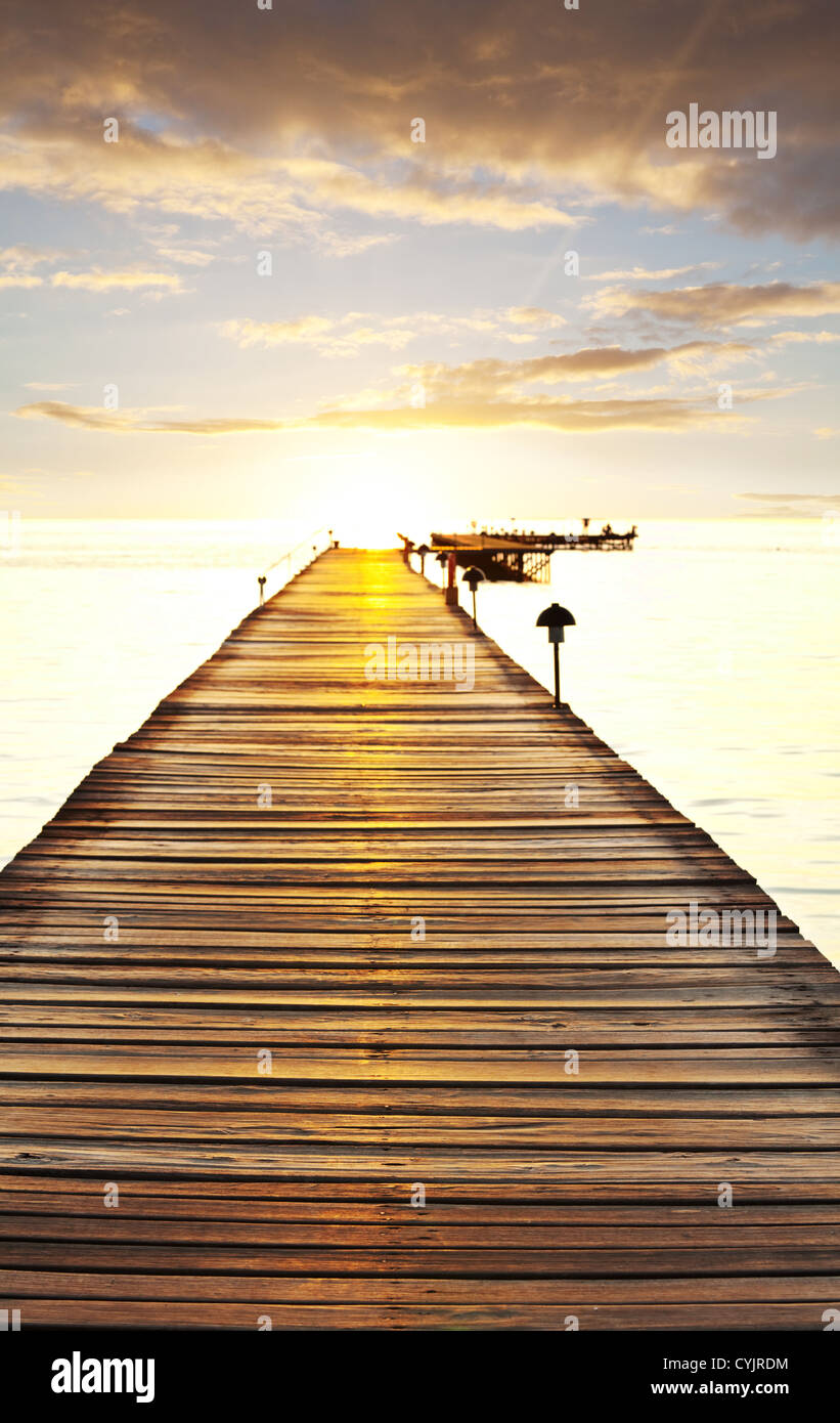 Paseo en la playa Imagen De Stock