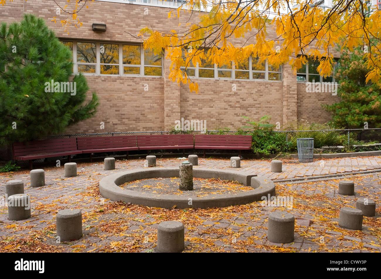 Coles Centro de Deportes y Recreación de la Universidad de Nueva York Imagen De Stock