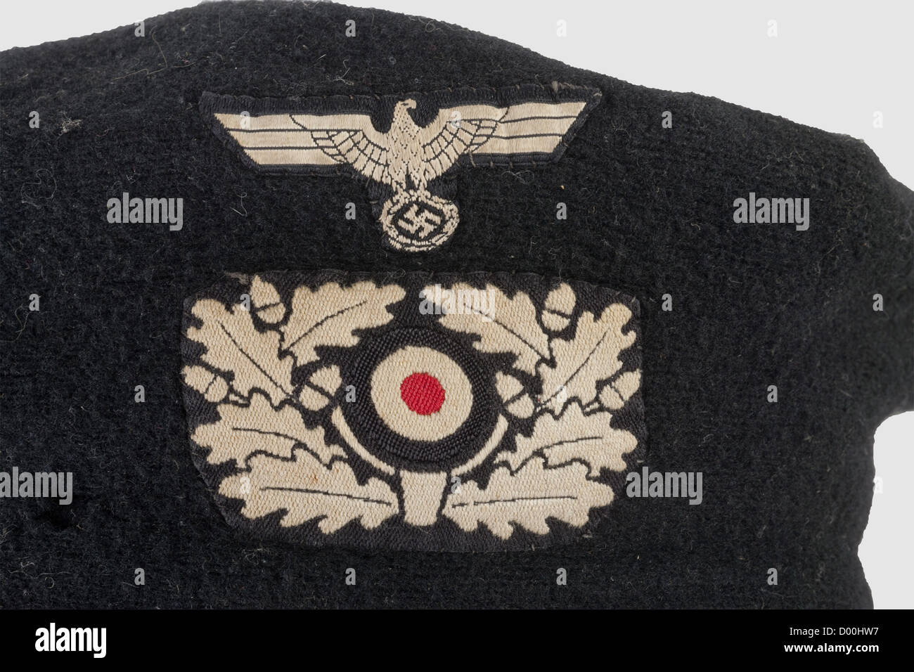 Una boina para el uniforme de propósito especial de tropas Panzer ... 8a4048a0392