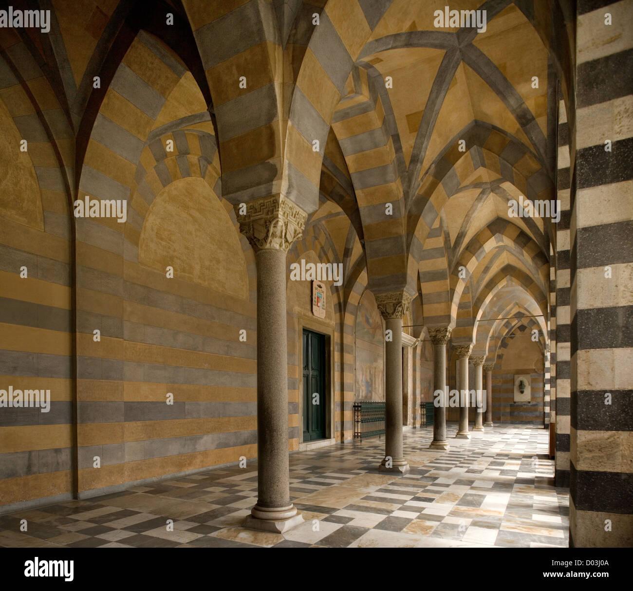 Catedral de Amalfi, Italia Imagen De Stock