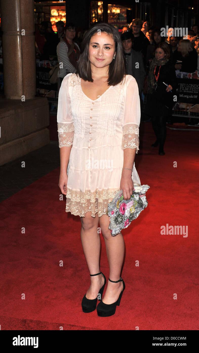 """Yasmin Paige 54º bfi London Film Festival: """"submarino"""", celebrado en el Vue West End - Llegadas. Imagen De Stock"""