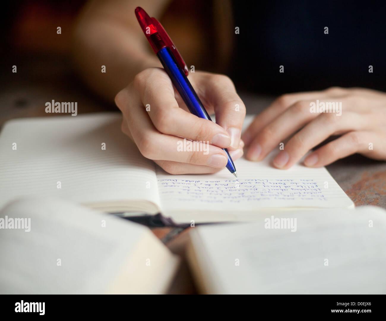 Resumen de educación Imagen De Stock