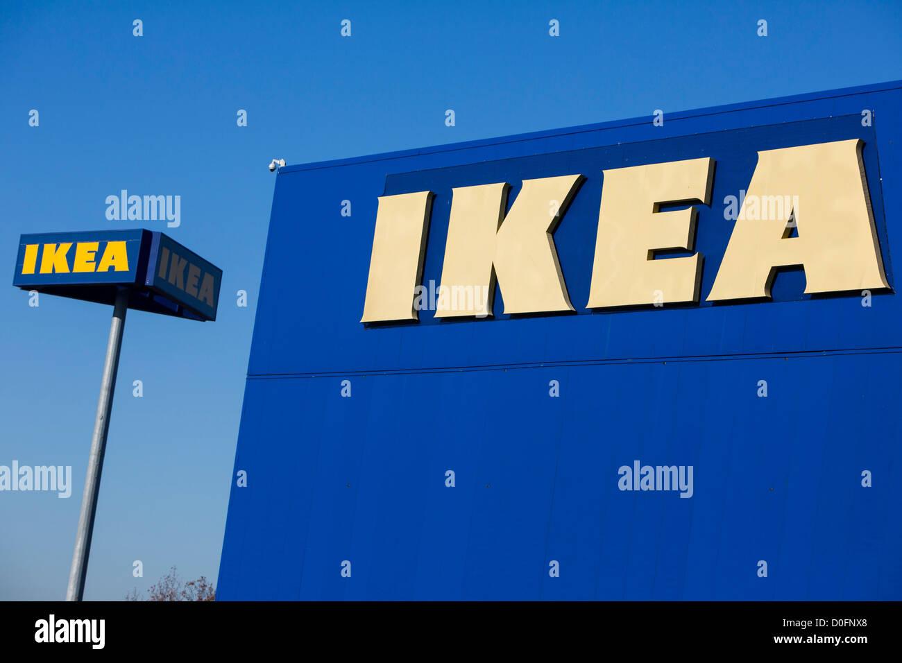 Una tienda Ikea de muebles para el hogar Foto & Imagen De Stock ...