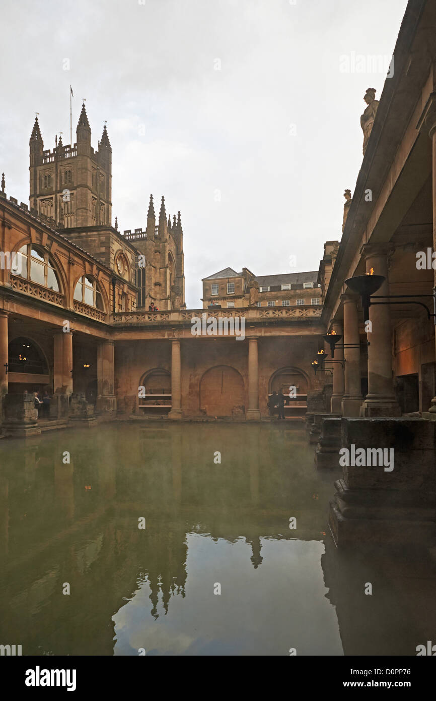 View of roman bath im genes de stock view of roman bath for Baneras vistas