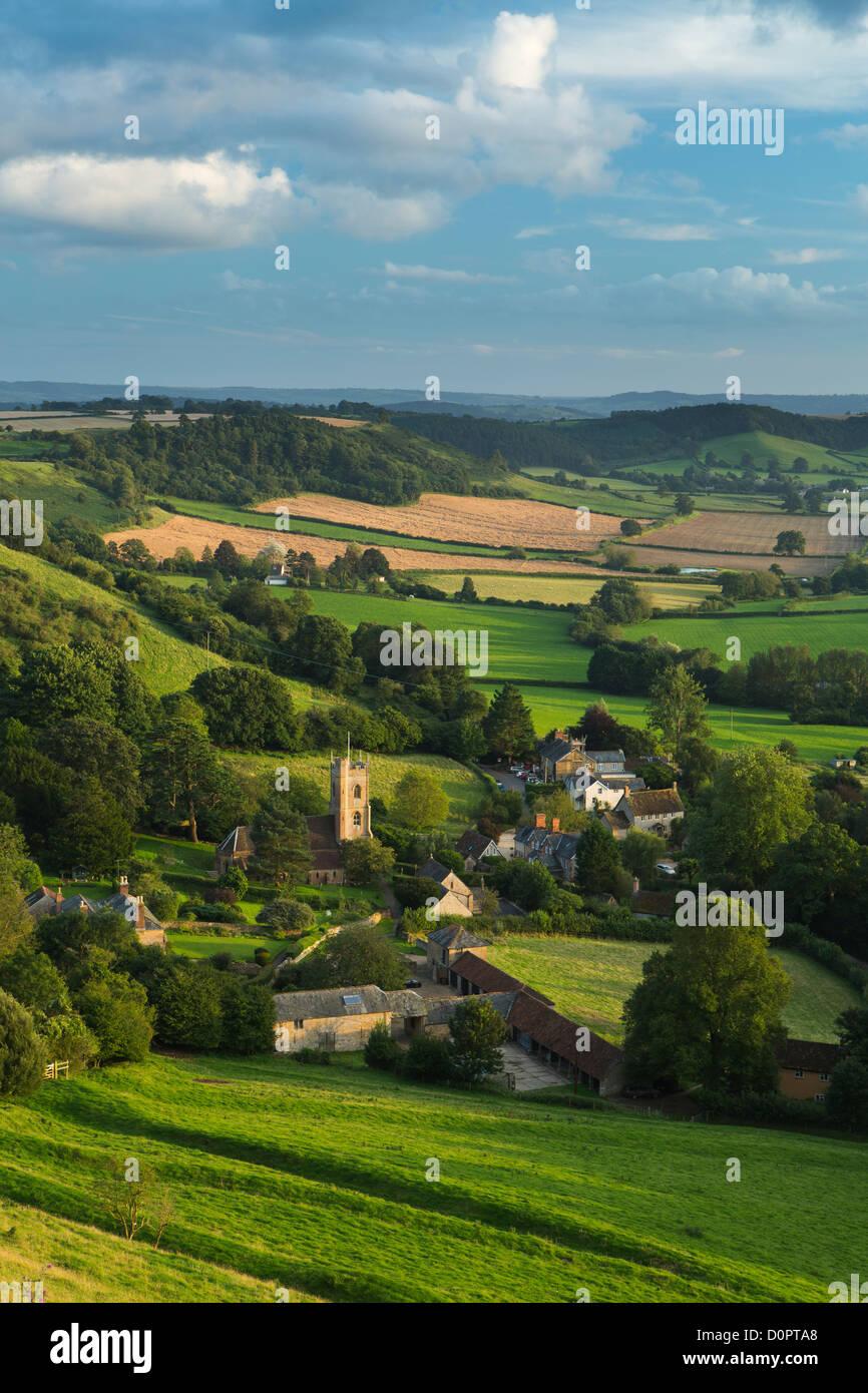 Corton Denham, Somerset, Inglaterra, Reino Unido. Imagen De Stock