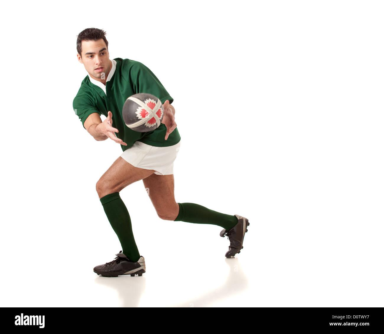 Jugador de rugby Imagen De Stock