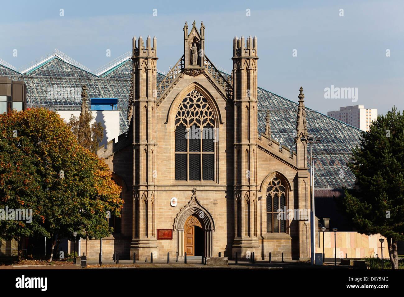 St Andrew's catedral Católica Romana, Glasgow, Escocia, Reino Unido Foto de stock
