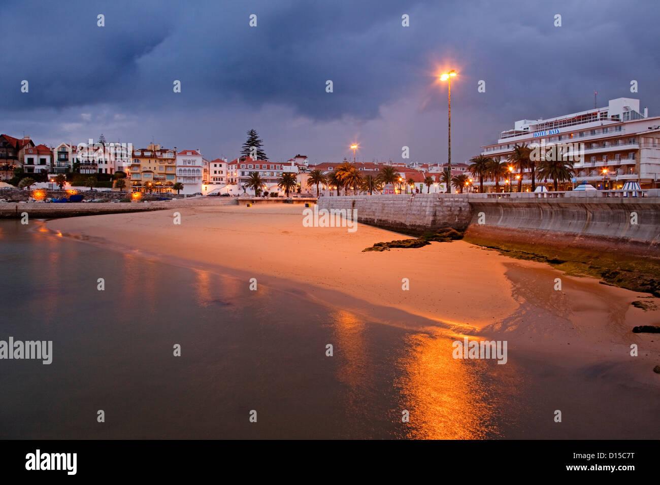 Playas de Cascais Portugal playas de Cascais Portugal Imagen De Stock