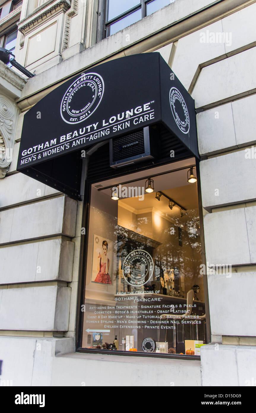 Salón de belleza de Gotham en Bryant Park, Manhattan, Ciudad de Nueva York Imagen De Stock