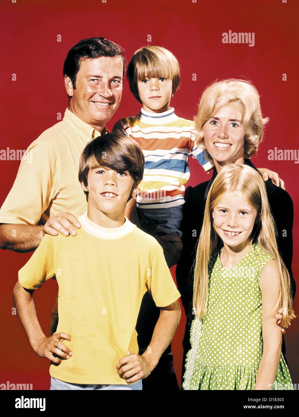 Vintage retrato de familia Imagen De Stock