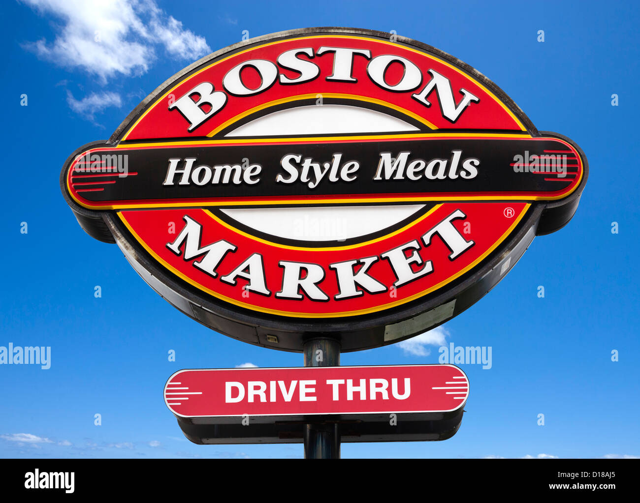 Boston Market Restaurante en Winter Haven, Florida, EE.UU. Imagen De Stock