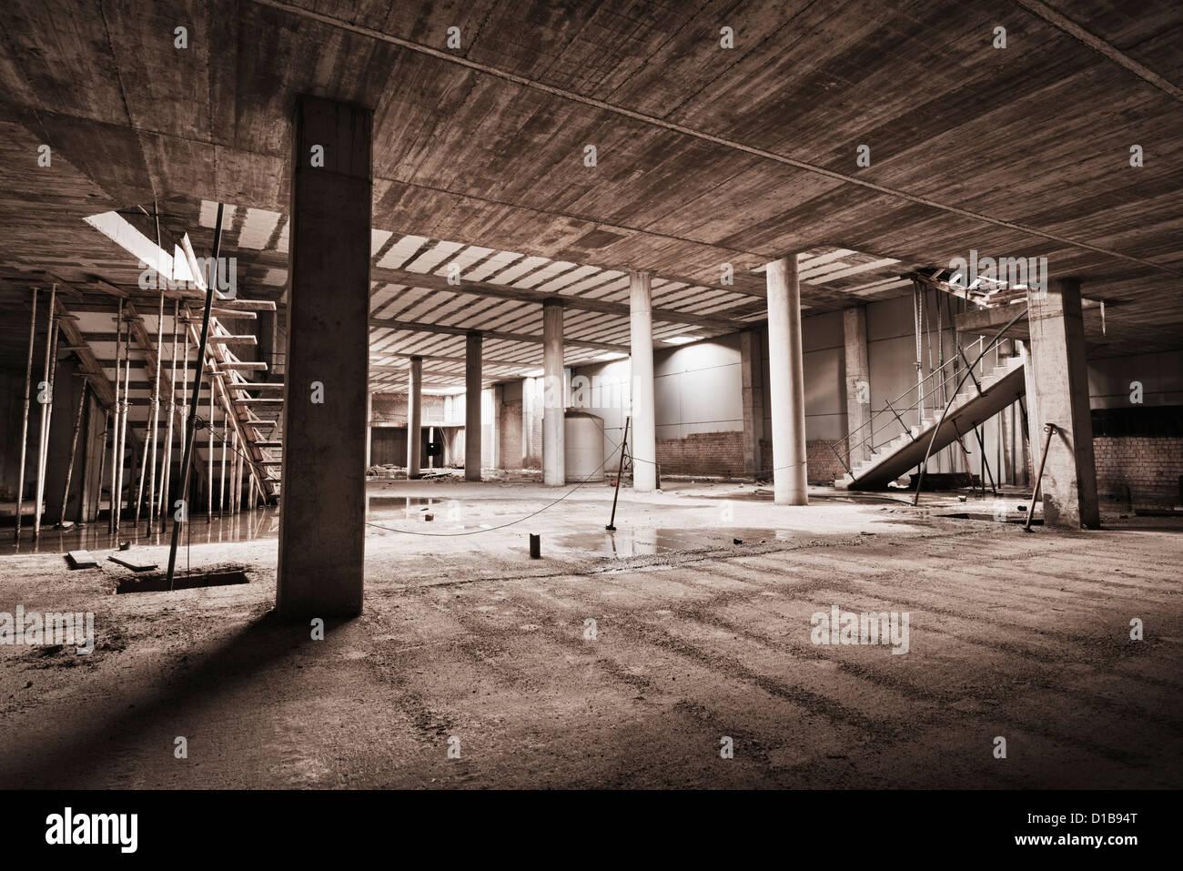 Edificio abandonado. Imagen De Stock