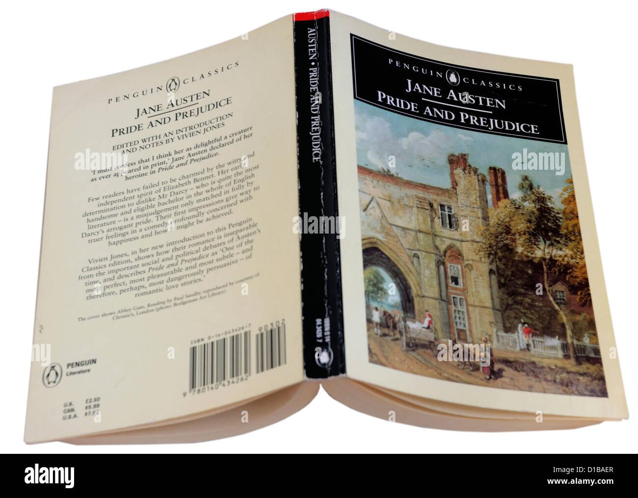 Orgullo y Prejuicio de Jane Austen Imagen De Stock