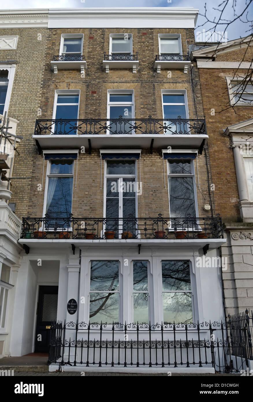 Número Dos La Terraza Una Casa Georgiana De Cuatro Pisos