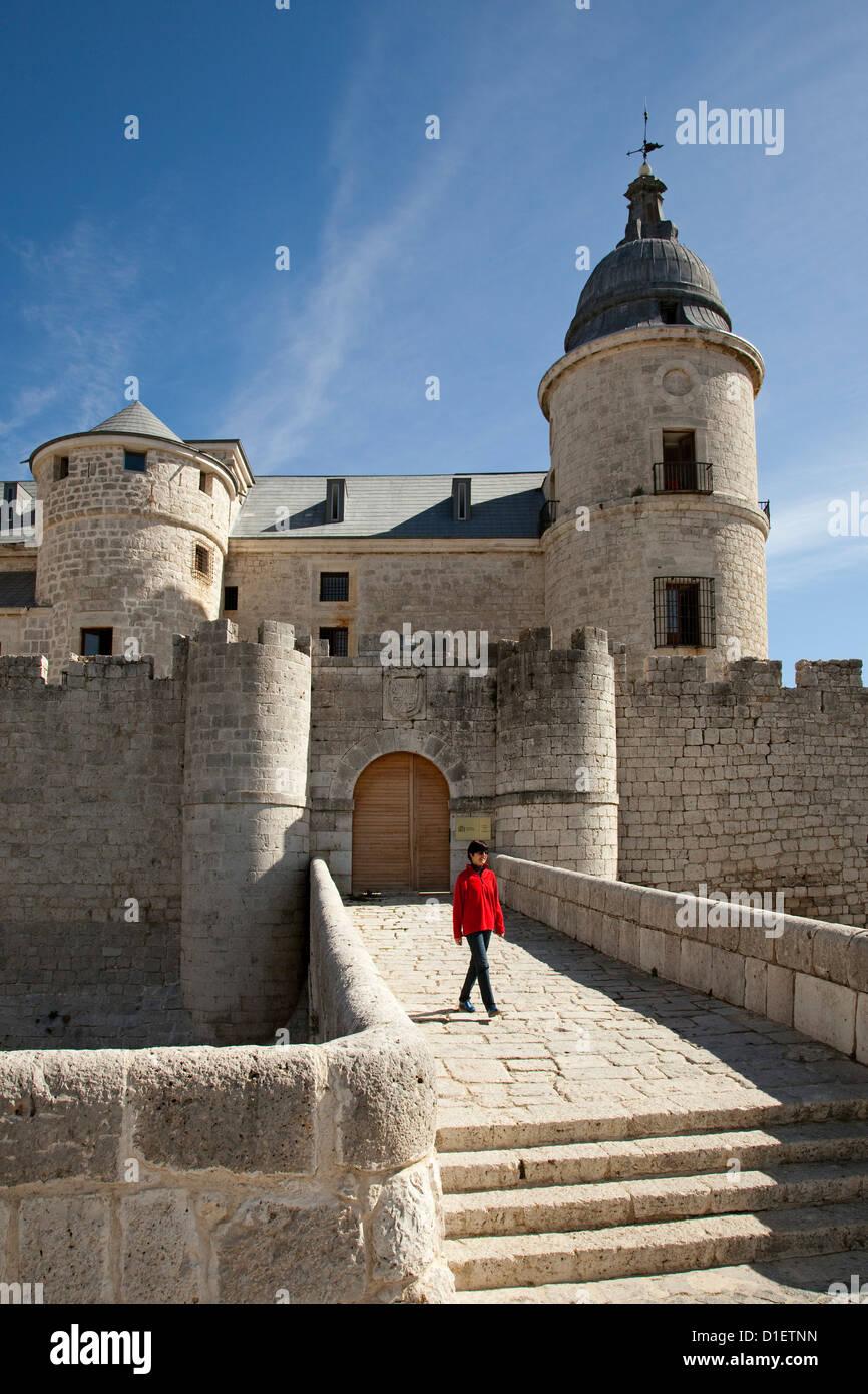 Archivo histórico castillo Simancas Valladolid Castilla y León España Imagen De Stock